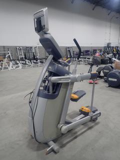Precor AMT 100i Adaptive Motion Trainer w/ 12in Cardio Theater Monitor. SN A927C25080038