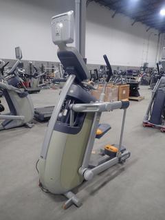 Precor AMT 100i Adaptive Motion Trainer w/ 12in Cardio Theater Monitor. SN A927C27080080