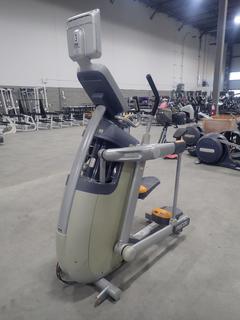 Precor AMT 100i Adaptive Motion Trainer w/ 12in Cardio Theater Monitor. SN A927C27080082