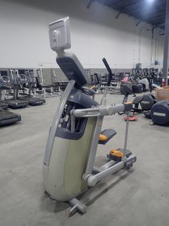 Precor AMT 100i Adaptive Motion Trainer w/ 12in Cardio Theater Monitor. SN A927C27080078
