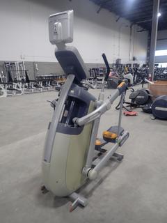 Precor AMT 100i Adaptive Motion Trainer w/ 12in Cardio Theater Monitor. SN A927C27080096