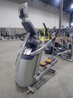 Precor AMT 100i Adaptive Motion Trainer w/ 12in Cardio Theater Monitor. SN A927C25080041