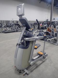 Precor AMT 100i Adaptive Motion Trainer w/ 12in Cardio Theater Monitor. SN A927C27080094
