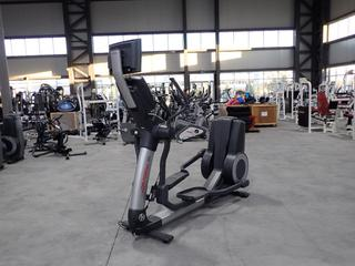 Life Fitness 95X Elliptical Cross-Trainer w/ HDTV 17in Monitor, Plugin And AC Adapter. SN XTM106074 *Note: Working Condition Unknown*