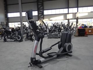 Life Fitness 95X Elliptical Cross-Trainer w/ HDTV 17in Monitor, Plugin And Ac Adapter. SN XTM106077 *Note: Working Condition Unknown*