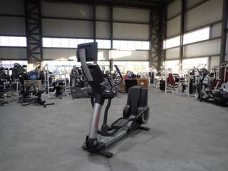 Life Fitness 95X Elliptical Cross-Trainer w/ HDTV 17in Monitor And AC Adapter. SN XTM105953 *Note: Working Condition Unknown*