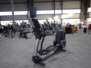 Life Fitness 95X Elliptical w/ HDTV 17in Monitor And AC Adapter. *Note: Working Condition Unknown*