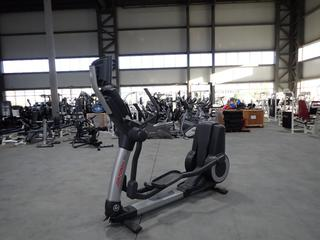 Life Fitness 95X Elliptical Cross-Trainer w/ HDTV 17in Monitor And AC Adapter. SN XTM106098 *Note: Working Condition Unknown*