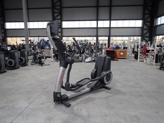 Life Fitness 95X Elliptical Cross-Trainer w/ HDTV 17in Monitor And AC Adapter. SN XTM105952 *Note: Working Condition Unknown*