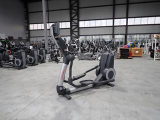 Life Fitness 95X Elliptical Cross-Trainer w/ HDTV 17in Monitor And Ac Adapter. SN XTM106076 *Note: Working Condition Unknown*