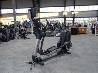 Life Fitness 95X Elliptical  Cross-Trainer w/ HDTV 17in Monitor And AC Adapter. SN XTM105982 *Note: Working Condition Unknown*