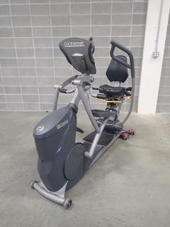 Octane Fitness XRide Seated Elliptical. SN F08128600640-01 *Note: This Item Is Located At 7103 68AVE NW- Location 2*