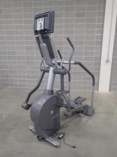 Life Fitness Summit Trainer w/ HDTV Monitor. *Note: This Item Is Located At 7103 68AVE NW- Location 2*