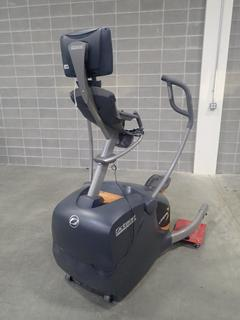 Octane Fitness LX8000 Lateral Elliptical w/ Display Monitor. SN G1310GG01782-02 *Note: This Item Is Located At 7103 68AVE NW- Location 2*