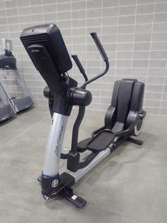 Life Fitness 95XS Elliptical Cross-Trainer w/ Display Monitor. SN ASX105158 *Note: This Item Is Located At 7103 68AVE NW- Location 2*
