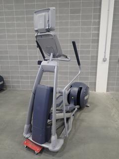 Precor EFX 800 Series Elliptical Cross-Trainer w/ LCD Monitor. SN ADFXC21130020 *Note: This Item Is Located At 7103 68AVE NW- Location 2*