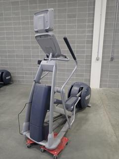 Precor EFX 800 Series Elliptical Cross-Trainer w/ LCD Monitor. SN ADFXC11130042 *Note: This Item Is Located At 7103 68AVE NW- Location 2*