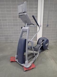 Precor EFX 800 Series Elliptical Cross-Trainer w/ LCD Monitor. SN ADFXC25130034 *Note: This Item Is Located At 7103 68AVE NW- Location 2*