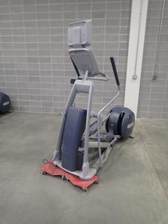 Precor EFX 800 Series Elliptical Cross-Trainer w/ LCD Monitor. SN ADFXC11130040 *Note: This Item Is Located At 7103 68AVE NW- Location 2*