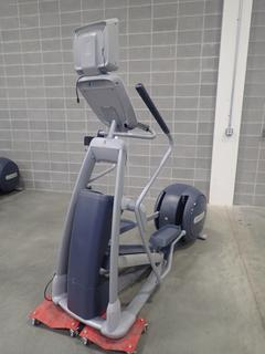 Precor EFX 800 Series Elliptical Cross-Trainer w/ LCD Monitor. SN ADFXC25130032 *Note: This Item Is Located At 7103 68AVE NW- Location 2*