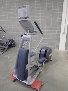 Precor EFX Elliptical Cross-Trainer w/ LCD Monitor. SN ADFXC25130029 *Note: This Item Is Located At 7103 68AVE NW- Location 2*