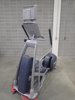 Precor EFX 800 Series Elliptical Cross-Trainer w/ LCD Monitor. SN ADFXC25130009 *Note: This Item Is Located At 7103 68AVE NW- Location 2*