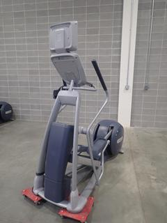 Precor EFX 800 Series Elliptical Cross-Trainer w/ LCD Monitor. SN ADFXC25130037 *Note: This Item Is Located At 7103 68AVE NW- Location 2*