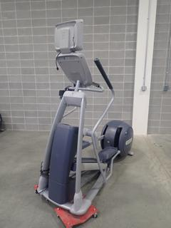 Precor EFX 800 Series Elliptical Cross-Trainer w/ LCD Monitor. SN ADFXC25130036 *Note: This Item Is Located At 7103 68AVE NW- Location 2*