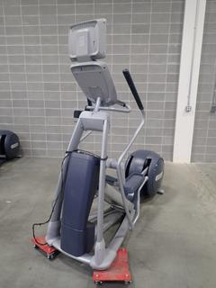 Precor EFX 800 Series Elliptical Cross-Trainer w/ LCD Monitor. SN ADFXB20130032 *Note: This Item Is Located At 7103 68AVE NW- Location 2*