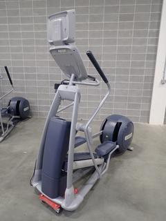 Precor EFX 800 Series Elliptical Cross-Trainer w/ LCD Monitor. SN ADFXC11130039 *Note: This Item Is Located At 7103 68AVE NW- Location 2*