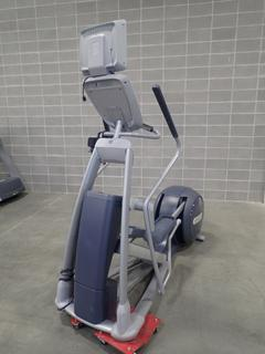 Precor EFX 800 Series Elliptical Cross-Trainer w/ LCD Monitor. SN ADFXC25130004 *Note: This Item Is Located At 7103 68AVE NW- Location 2*