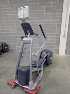 Precor EFX 556i Elliptical Cross-Trainer w/ Cardio Theater Monitor. SN AYHCL30090028 *Note: This Item Is Located At 7103 68AVE NW- Location 2*