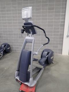 Precor EFX 546i Elliptical Cross-Trainer w/ Cardio Theater Monitor. SN AJPAA04100005. *Note: This Item Is Located At 7103 68AVE NW- Location 2*