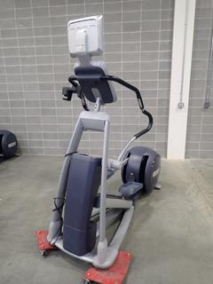 Precor EFX 546i Elliptical Cross-Trainer w/ Cardio Theater Monitor. SN AJPAL02100001  *Note: This Item Is Located At 7103 68AVE NW- Location 2*