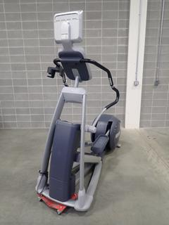 Precor EFX 546i Elliptical Cross-Trainer w/ Cardio Theater Monitor. SN AJPAA04100001  *Note: This Item Is Located At 7103 68AVE NW- Location 2*