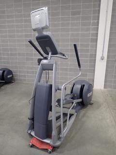 Precor EFX 576i Elliptical Cross-Trainer w/ Cardio Theater Monitor. SN AA72K24080009 *Note: This Item Is Located At 7103 68AVE NW- Location 2*