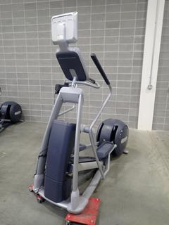 Precor EFX 576i Elliptical Cross-Trainer w/ Cardio Theater Monitor. SN AADWC31100004  *Note: Damage On Monitor, This Item Is Located At 7103 68AVE NW- Location 2*