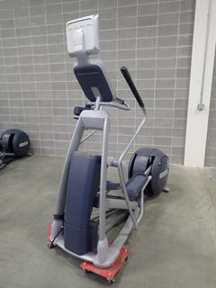 Precor EFX 576i Elliptical Cross-Trainer w/ Cardio Theater Monitor. SN AADWC31100001  *Note: This Item Is Located At 7103 68AVE NW- Location 2*
