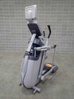 Precor AMT 100i Adaptive Motion Trainer w/ Cardio Theater Monitor. SN A927K23100002 *Note: This Item Is Located At 7103 68AVE NW- Location 2*
