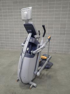 Precor AMT 100i Adaptive Motion Trainer w/ Cardio Theater Monitor. SN A927K30100030 *Note: Plastic Broken On (1) Foot Pedal, This Item Is Located At 7103 68AVE NW- Location 2*