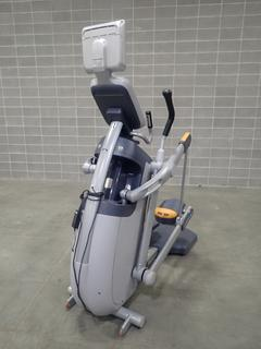 Precor AMT 100i Adaptive Motion Trainer w/ Cardio Theater Display. SN A927K22100019 *Note: This Item Is Located At 7103 68AVE NW- Location 2*