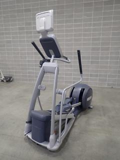 Precor EFX 556i Elliptical Cross-Trainer w/ Cardio Theater Monitor. SN AYHCK10100005  *Note: This Item Is Located At 7103 68AVE NW- Location 2*