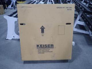 Keiser M3 Spin Bike. SN 140529-84840 *Unused*