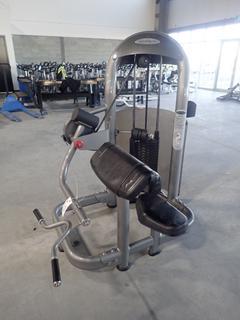 Matrix Arm Curl Machine w/ 212.5lb Max Weight Cap. SN G2GM14A0606008D
