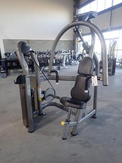 Matrix Chest Press Machine w/ 260lb Max Weight Cap. SN G2GM02A0604079D