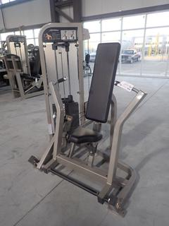 Life Fitness Chest Press Machine w/ 310lb Max Weight Cap. SN PSCPSE-PR02000001025