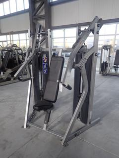 Hammer Strength Model MTSCP MTS Chest Press Machine. SN MTSCP000408