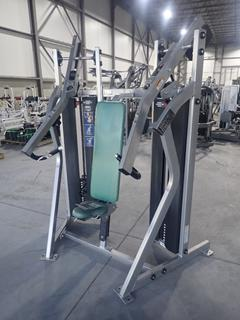 Hammer Strength MTS Incline Press Machine w/ 300lb Max Weight Cap. SN T1P040008