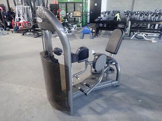 Matrix Hip Abduction Machine w/ 305lb Max Weight Cap. SN G2GM18A0503001 *Note: Crack In Plastic*