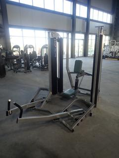 Hammer Strength MTS Row Machine w/ 300lb Max Weight Cap. SN TRW030021 *Note: Needs New Belt, Requires Assembly*